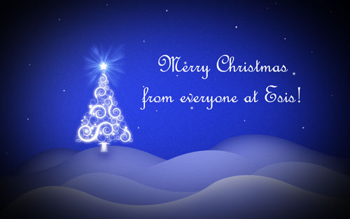 Merry Christmas from everyone at Esis!
