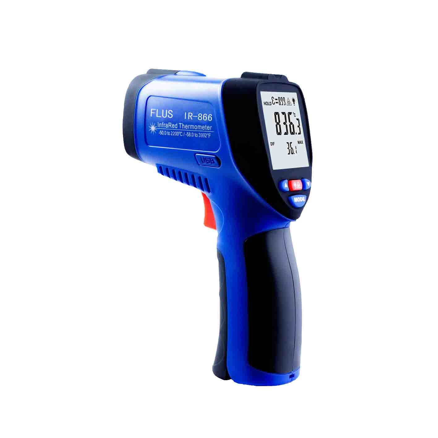 Esis Infra Red Temperature Ir Flus Pic Digital Thermometer Electronicslab 866 Infrared 50 To 2250 501