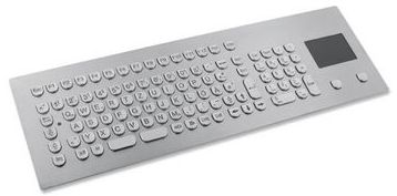 TKV-105-TOUCH-MODUL Stainless steel keyboard