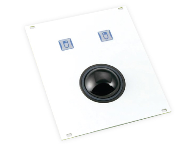 KH02003 - TKH-TB38b-FP-PS/2, KH02004 - TKH-TB38b-FP-USB (Aluminium Trackball - 38mm)