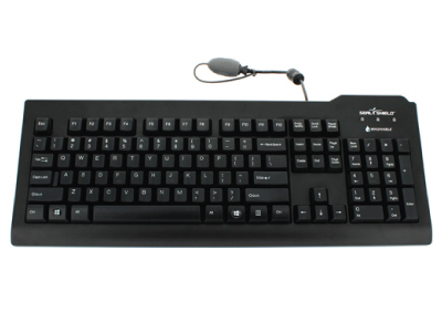 Silver Seal™ Waterproof Medical Grade Keyboard - SSKSV207