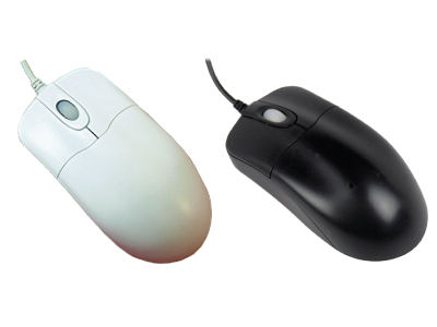 Silver Storm - Medical Grade Optical Mouse - Scroll Wheel
