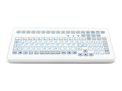 KS18242 Compact Industrial Desktop Keyboard