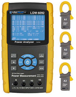 3 Phase Data Loggers and Power Analysers - Handheld | Esis