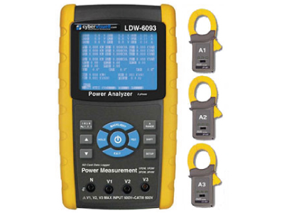 CyberVisuell LDW-6093K Power Analyser