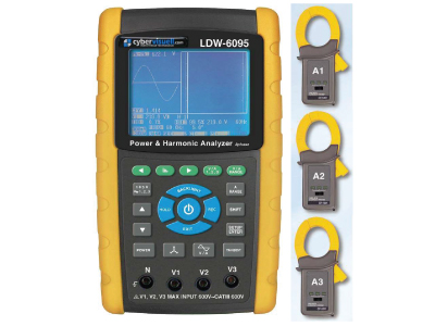 CyberVisuell LDW-6095K Power Analyser