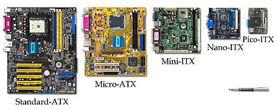 ATX Motherboards Form Factor Comparison