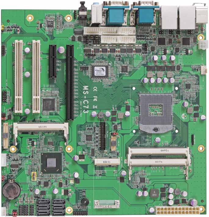 Commell MicroATX Mainboards - MS-C73