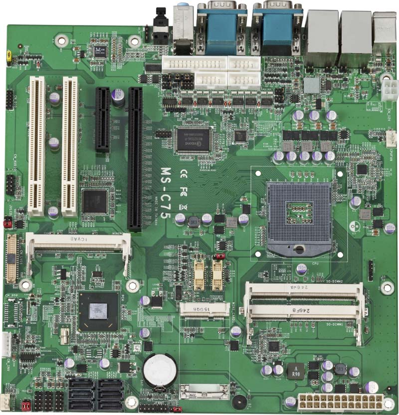 Commell MicroATX Mainboards - MS-C75
