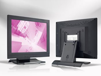 Desktop Industrial LCD Monitors -- Plastic Cased, & Touch