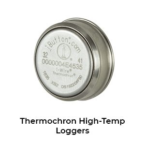 Thermochron high-temp loggers