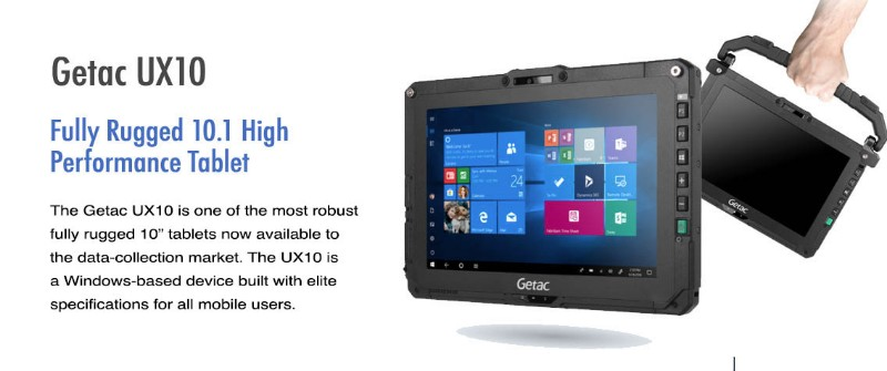 GETAC Launches UX10 Ultra Rugged Tablet For Powerful Portability