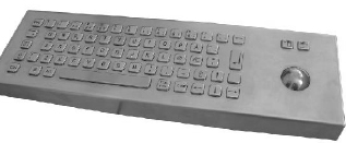 CKBCA1 - CyberVisuell Stainless steel keyboard