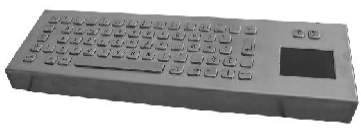 CKBCA2 - CyberVisuell Stainless steel keyboard