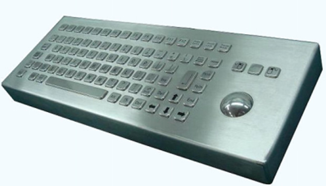 CKBCA3 - CyberVisuell Stainless steel keyboard