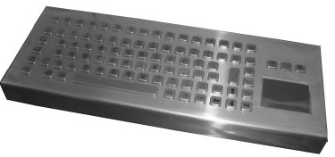 CKBCA4 - CyberVisuell Stainless steel keyboard