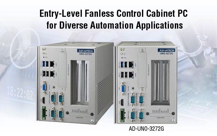 Remarkable UNO-3272G Fanless PC Suits Diverse Applications