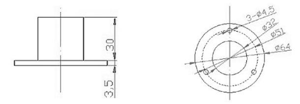 RK200-02-PAR-Sensor-PD-ESIS-AU-dimension