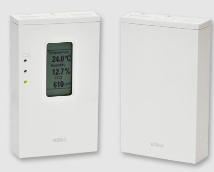CO2, Temperature and Humidity Transmitter Series GMW90