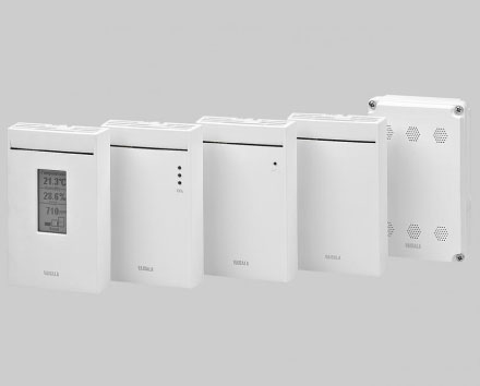 GMW80 Series Carbon Dioxide and Temperature Transmitters for Demand-Controlled Ventilation