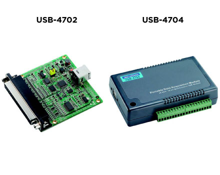 USB-4702 and USB-4704
