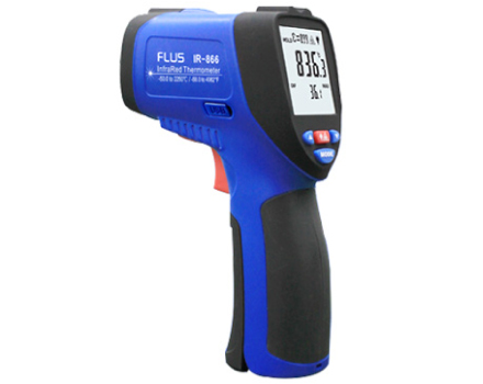 IR-866 50:1 High temperature infrared thermometer