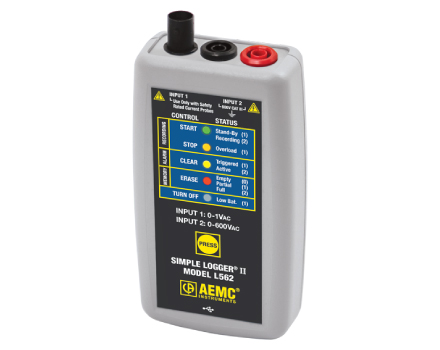 L562 Simple Logger II Series (AC Current and Voltage)