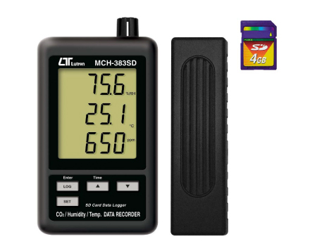 MCH-383SD - CO2+Humidity+Temperature meter